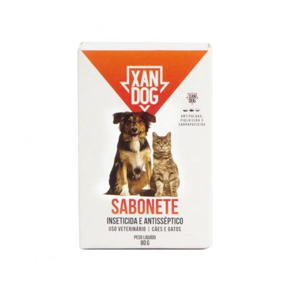 Sabonete Para Cachorro Inseticida Xan Dog