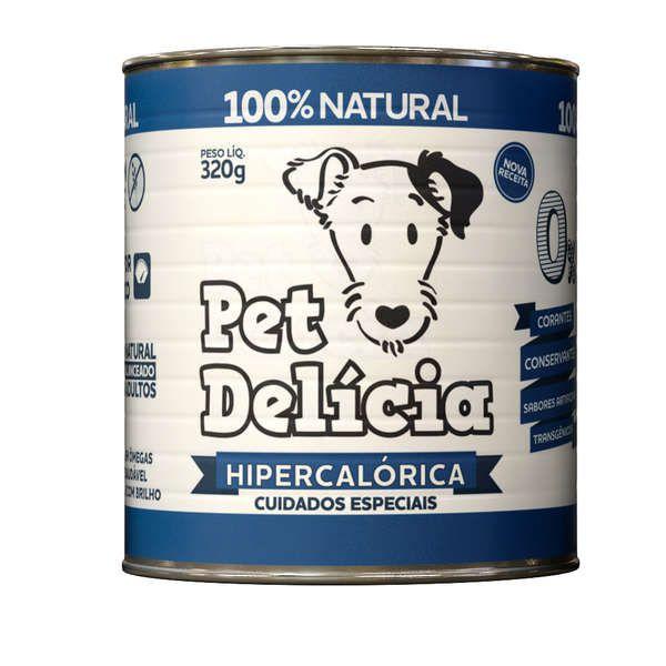 Ração Pet Delícia Dieta Hipercalórica 320g