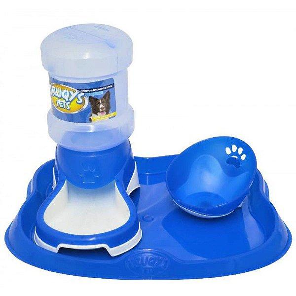 Bebedouro Automático Truqys Pet Azul 2L