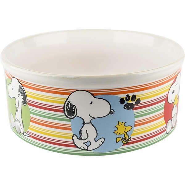 Comedouro Cerâmica Zooz Pets Snoopy Snop1