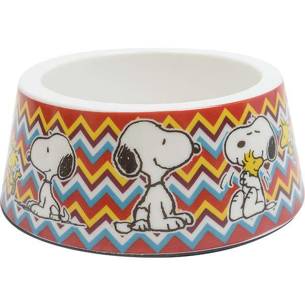 Comedouro Melamina Zooz Pets Snoopy Mosca