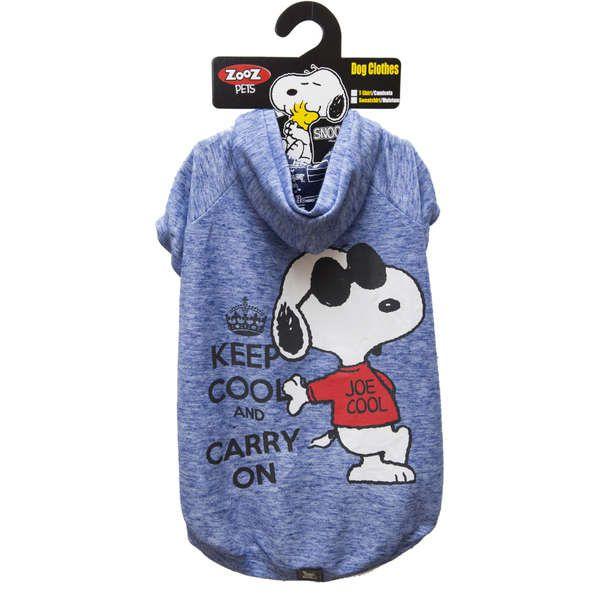 Roupa Cachorro Moletom Snoopy Keep Loyal