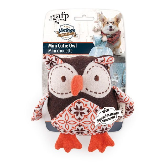 Brinquedo Cachorro Pelúcia Mini Cutie Owl Afp