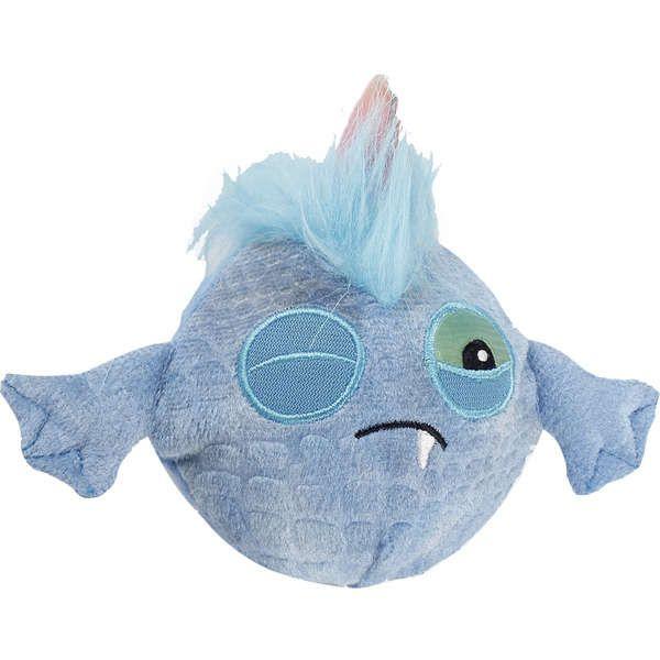 Brinquedo Cachorro Pelúcia Monster Ball Blue Com Bola Afp