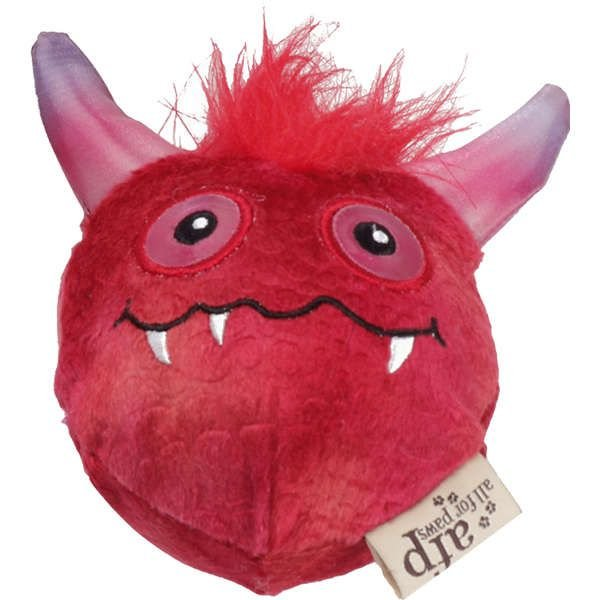 Brinquedo Cachorro Pelúcia Monster Ball Red Com Bola Afp