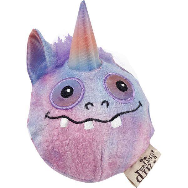 Brinquedo Cachorro Pelúcia Monster Ball Purple Com Bola Afp