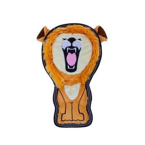 Brinquedo Cachorro Resistente Invincibles Tough Seamz Leão
