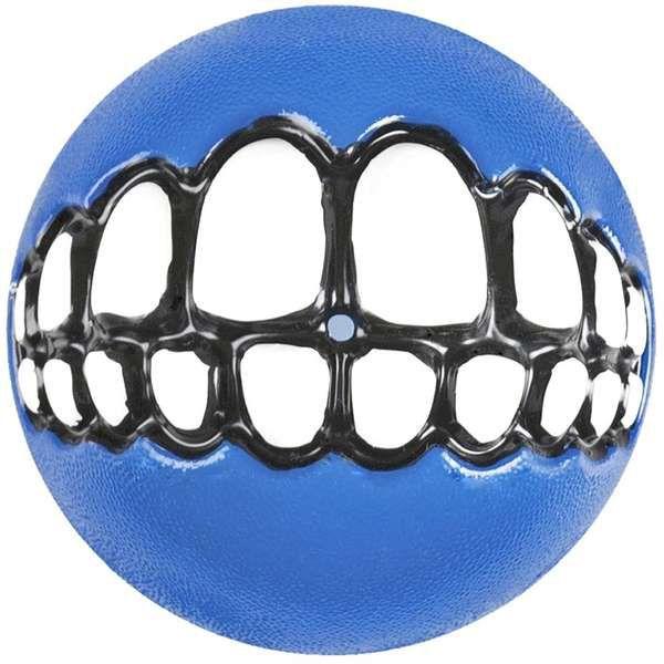 Brinquedo Para Cachorro Bolinha Sorriso Azul