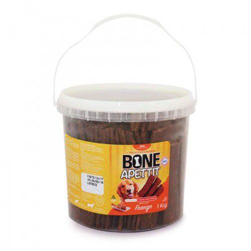 Petisco Snacks Para Cachorro Bone Apettit Frango 1Kg
