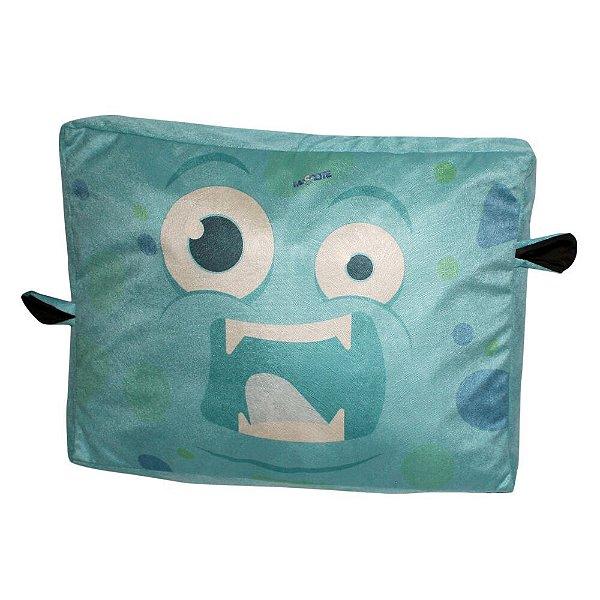 Almofada Para Cachorro Monstro Azul 12 x 46 x 60 cm