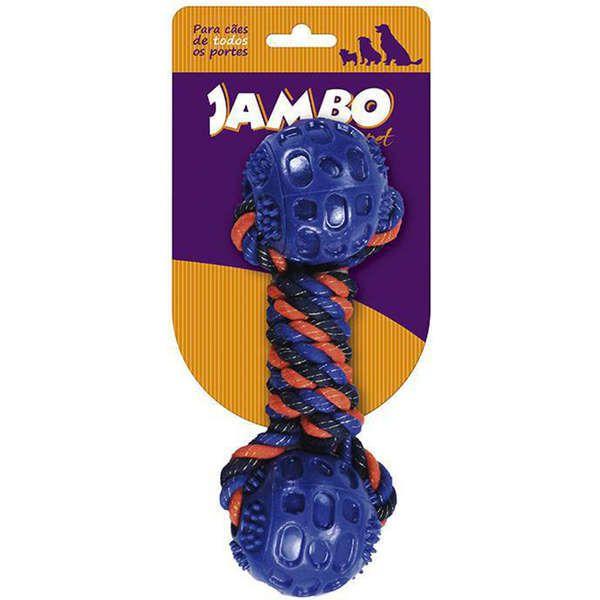 Brinquedo Para Cachorro Mordedor Blue Corda Twisted Jambo