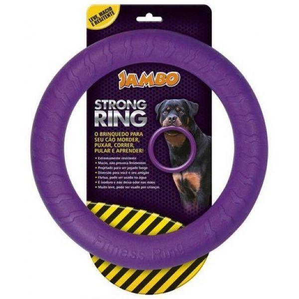 Brinquedo Para Cachorro Anel Ring Strong Roxo Jambo