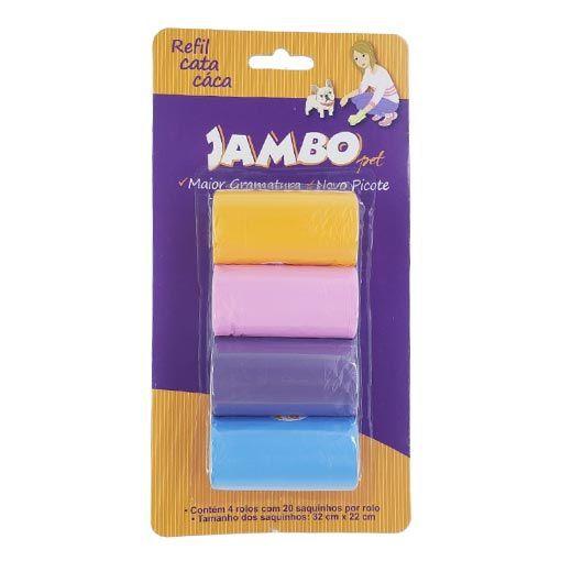 Refil Cata Cáca 4 Rolos Basic Jambo