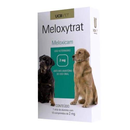 Medicamento Para Cachorro Meloxytrat Cartucho 10 Comprimidos de 2mg