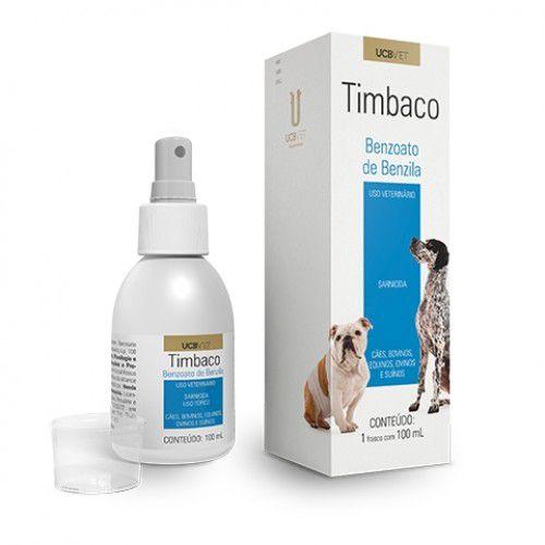 Medicamento Para Cachorro Timbaco Spray 100ml