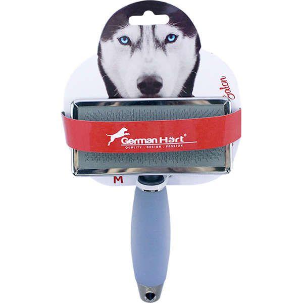 Escova Para Cães Rasqueadeira Cabo em Gel M Germanhart