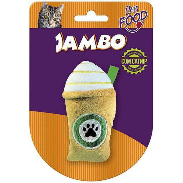 Brinquedo Para Gato Pelúcia Food Starbark Caramelo Jambo