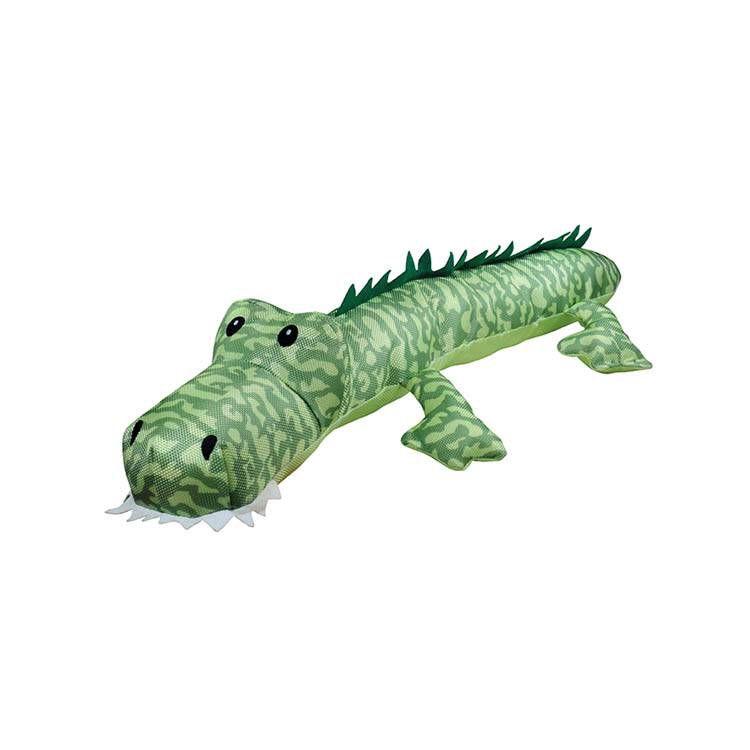 Brinquedo Para Cachorro Pelúcia Jacaré Long Grande Verde Jambo