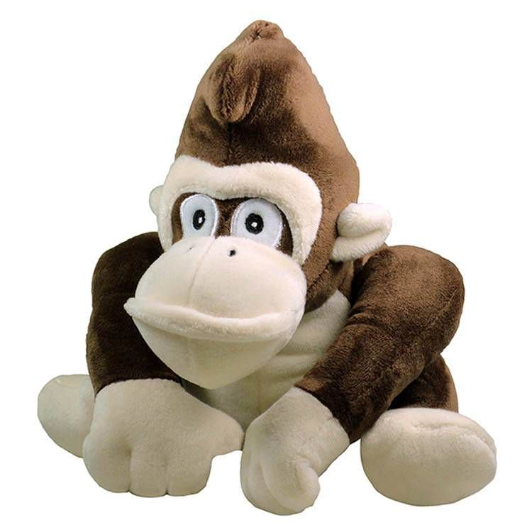 Brinquedo Para Cachorro Pelúcia Gorila Marrom Jambo