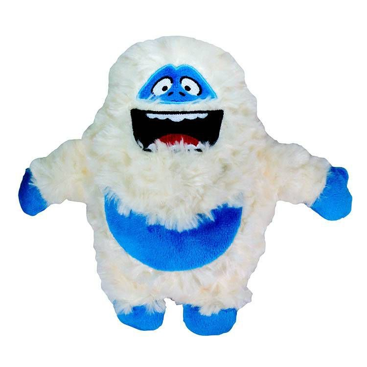 Brinquedo Para Cachorro Pelúcia Mostro da Neve Branco Jambo