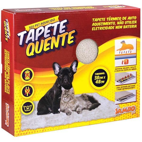 Tapete Térmico Para Cachorro Auto Aquecimento Pequeno Jambo