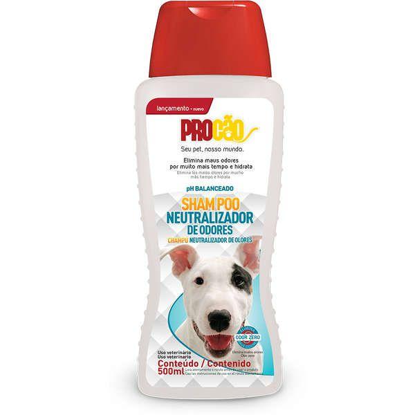 Shampoo Cachorro Neutralizador de Odores 500ml Procão