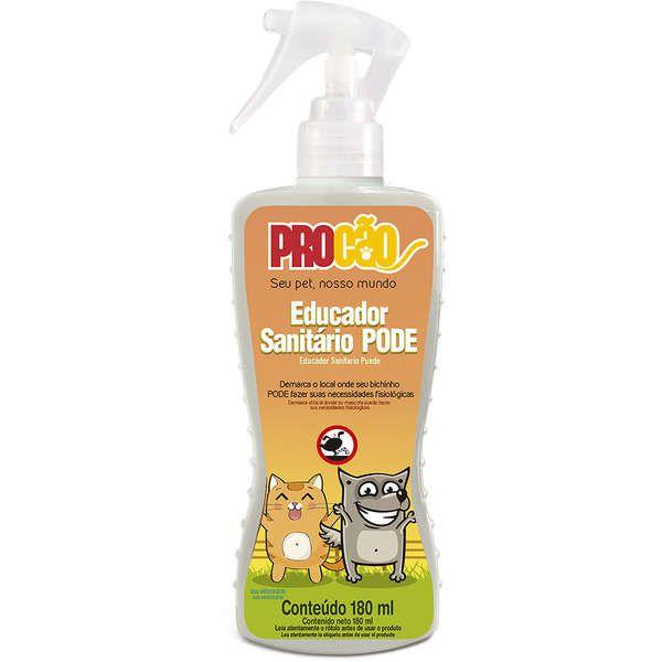 Educador Para Cachorro Pode Spray 180ml Procão