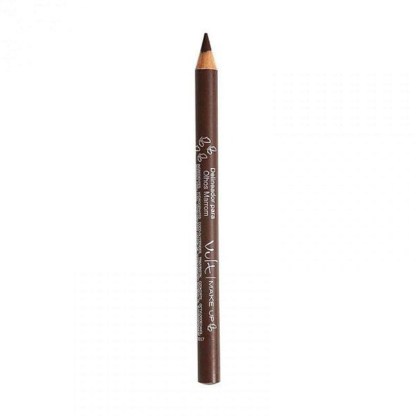 Lápis para Olhos Marrom Neutro Vult Make Up 1,2g