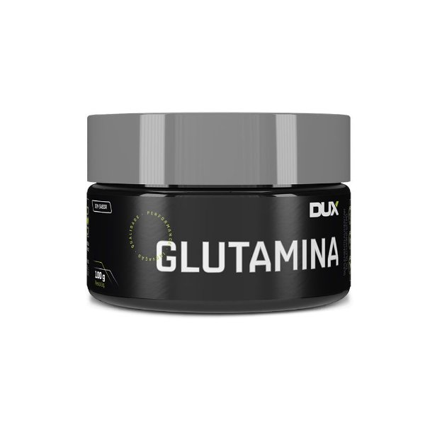 Glutamina Dux Sabor Natural Pote 100G