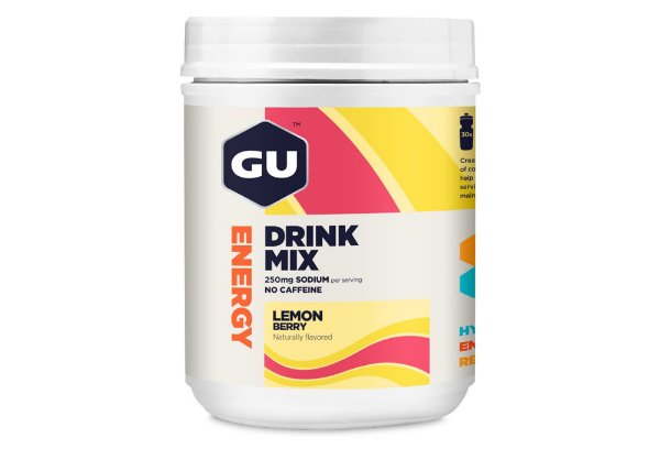 Gu Isotônico Drink Mix 840g Lemon Berry - gu Energy