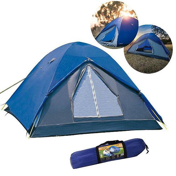 Barraca De Camping Fox 4/5 Pessoas E Coluna D'água De 1800mm
