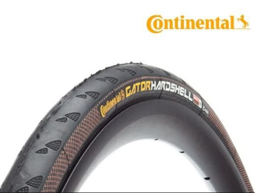 Pneu Continental Grand Prix Gator Hardshell 700 X 23 - Preto/Duraskin/Dobravel