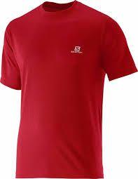 Camiseta Salomon Comet Ss Vermelha