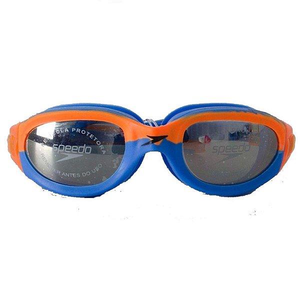 Oculos Speedo Horizon Mr Azul Espelhado
