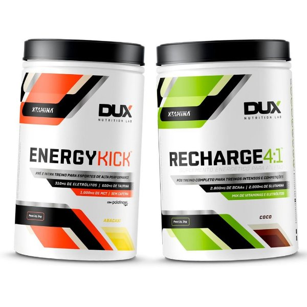 Combo Dux Energy Kick + Recharge 4:1