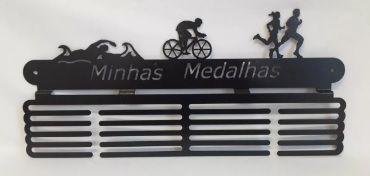 Porta Medalha Triathlon
