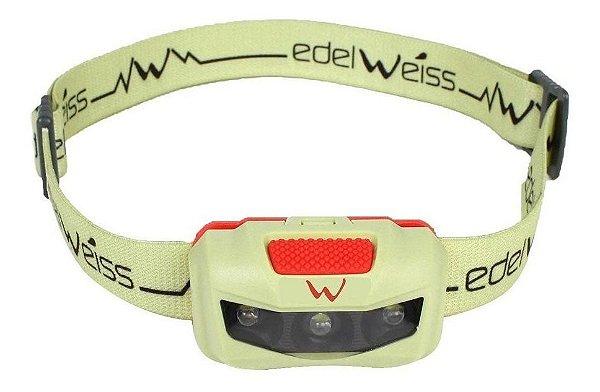 Lanterna de cabeça Edelweiss Polaris Verde