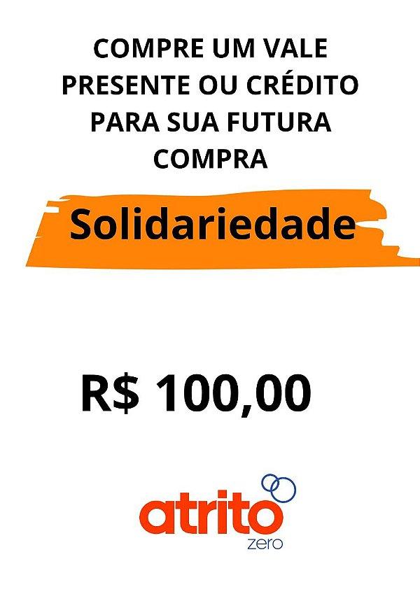 CUPOM DE AJUDA  / VALE PRESENTE R$ 100