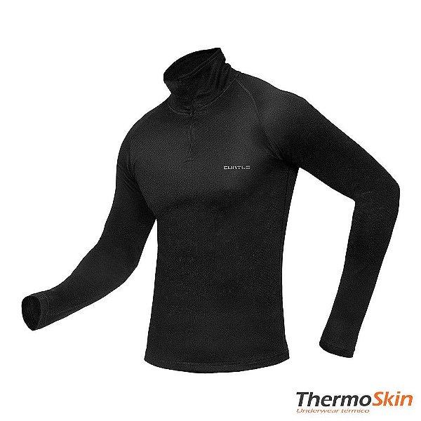Blusa Zip Thermo Skin Curtlo