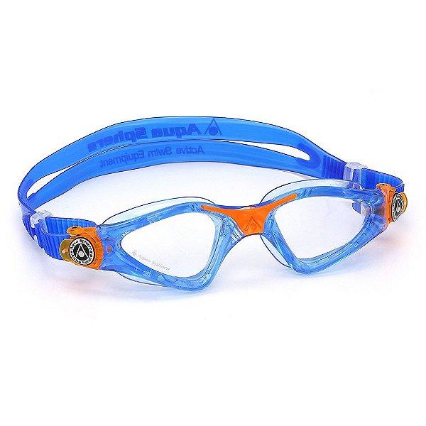 Oculos Aqua Sphere Kayenne Jr Azul