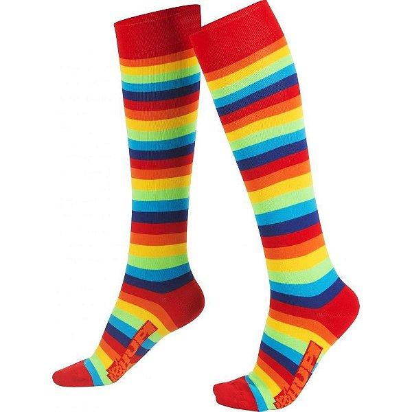 Meia Longa Colorful Hupi