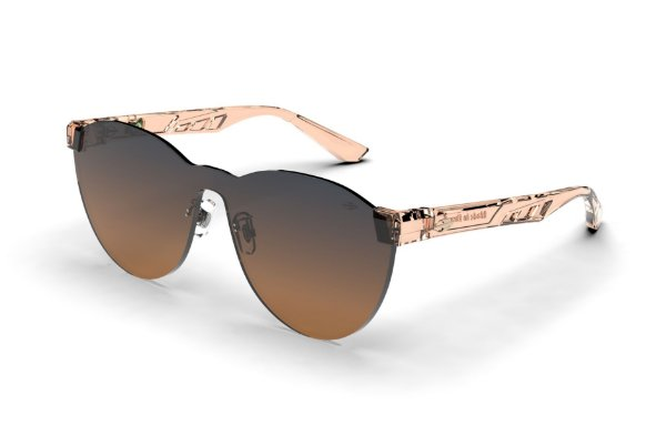 Oculos de Sol Mormaii Fabi Nud Transl Brilho L Azul Degr Laranja