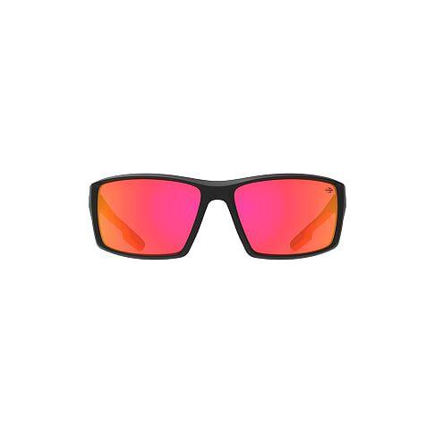 Oculos de Sol Mormaii Joaca 4 Preto Fosco Det Vermelho/L Cinza Revo