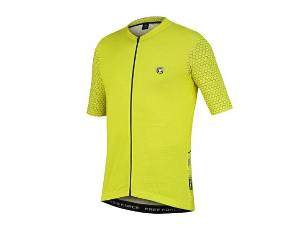 Camisa de Ciclismo Free Force Classic Grids