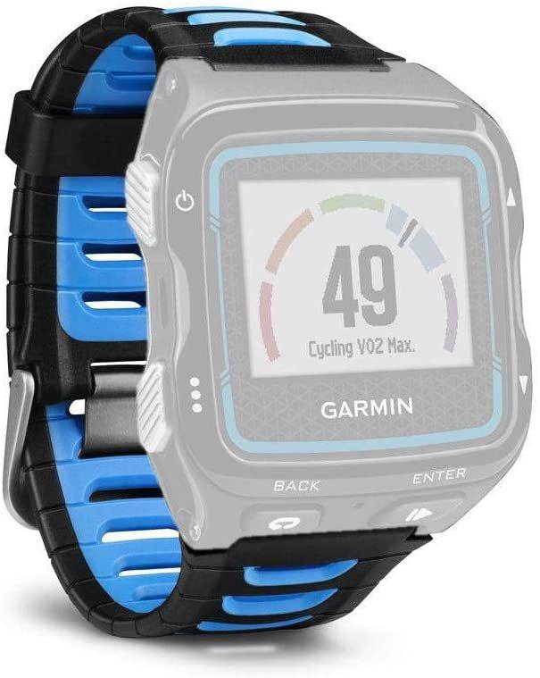 Pulseira Garmin FR 920 XT Azul e Preta Silicone