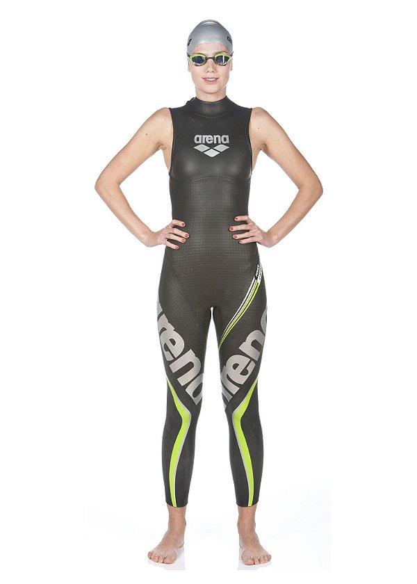 Wetsuit Triathlon Arena Carbon Sem Manga