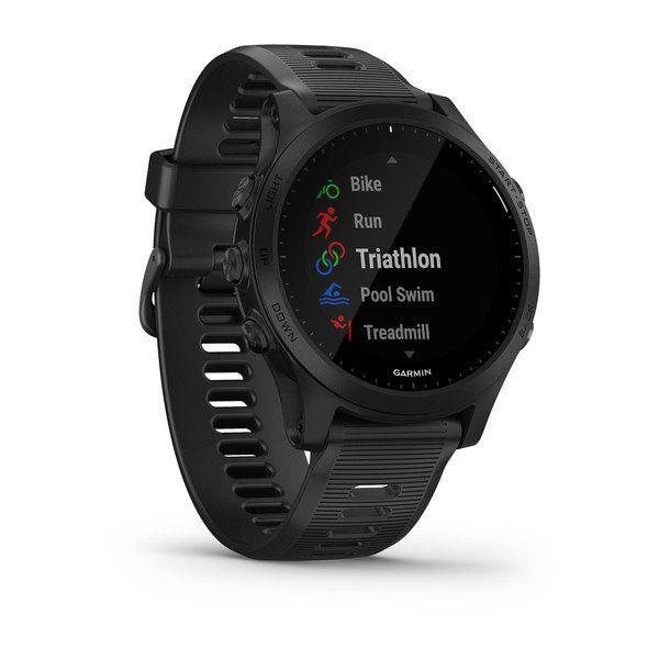 Monitor Cardíaco de Pulso com GPS Garmin Forerunner 945 Preto