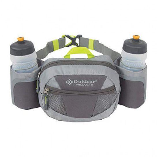Cinto de Hidratação Outdoor Products c/2 Garrafas e compatimento