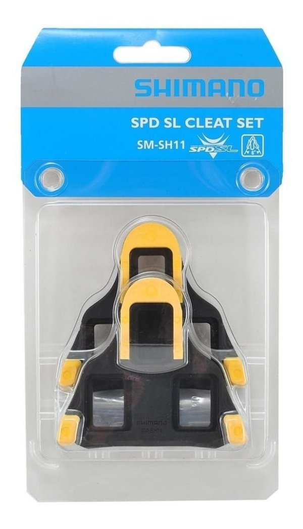 Taquinho Shimano SM-SH11 6 Graus p/ pedal Speed