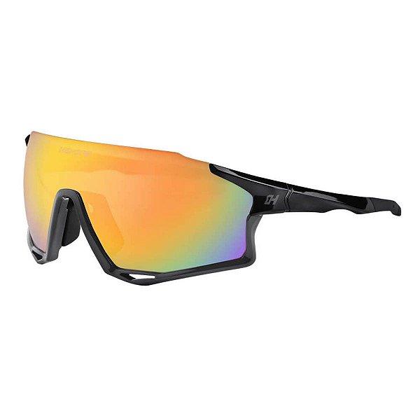 Oculos Ciclista Mark C/3 Lentes Revo/Fume/Transp Pto - High One